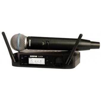 Sistem Wireless SHURE -Microfon Vocal GLXD24/B58A