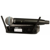 Sistem Wireless SHURE -Microfon Vocal GLXD24/B58A
