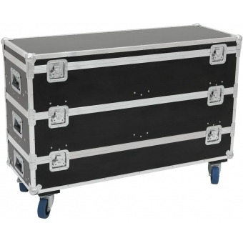 ROADINGER Flightcase 12x LED Bar Size L