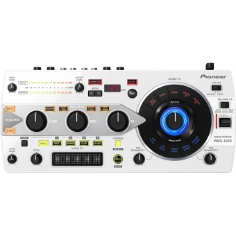 Pioneer RMX 1000 White - 3-in-1 Remix Station
