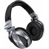 Pioneer HDJ 1500 Silver - Professional DJ Headphones with Groundbreaking Soundproofing Technology