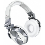 Pioneer HDJ 1500 White - Professional DJ Headphones with Groundbreaking Soundproofing Technology