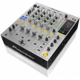 Pioneer DJM 850 Silver - 4-Channel High-End Digital Mixer