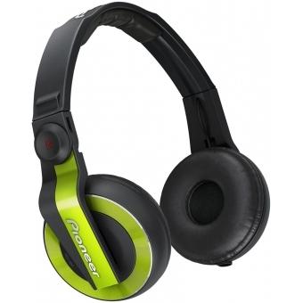Pioneer HDJ 500 Green - DJ Headphones