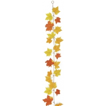 EUROPALMS Autumn garland, yellow, 180cm