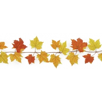 EUROPALMS Autumn garland, yellow, 180cm #2