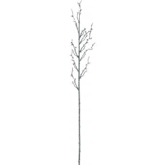 EUROPALMS Berry spray glitter silver 85cm 3x #2