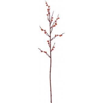EUROPALMS Berry spray glitter red 85cm 3x #2