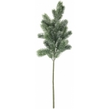 EUROPALMS Fir branch, snowy, PE, 65cm