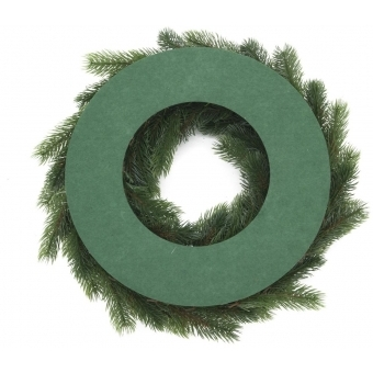 EUROPALMS Fir wreath, PE, 45cm #2