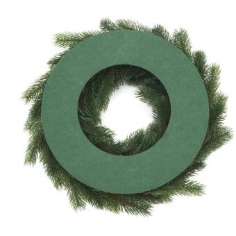 EUROPALMS Fir wreath, PE, 45cm #2