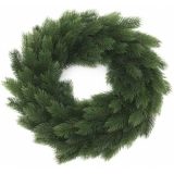 EUROPALMS Fir wreath, PE, 45cm