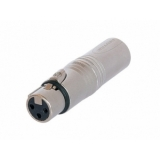 Adaptor XLR Neutrik, 3 pini NA 3 FM