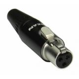 Mini XLR jack 3 pins S 301