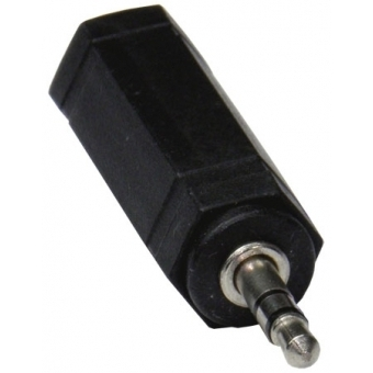 Adapter jack stereo 6,3 mm to plug stereo 3,5 mm S 46