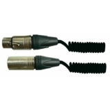 Spiral microphone cable 4 m SKM