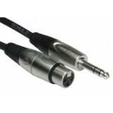 XLR / 6,3 mm plugs cable 1 m UAW 1