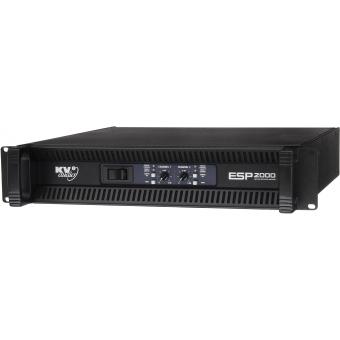 ESP2000 - Amplificator de inalta fidelitate, montabil pe Rack