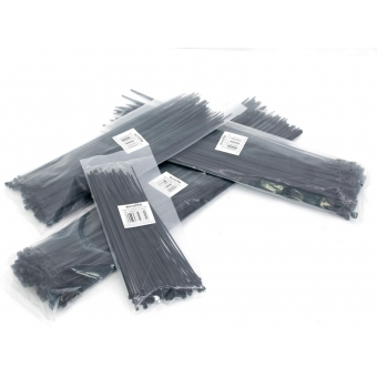 EUROLITE Cable Tie 350x4.5mm black 100x #2