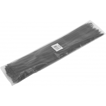 EUROLITE Cable Tie 450x4.8mm black 100x