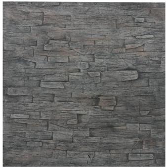 EUROPALMS Wallpanel, slate, 100x100cm