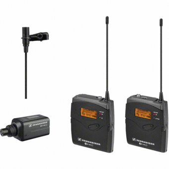 Set Lavaliera Wireless SENNHEISER ew 100-ENG G3