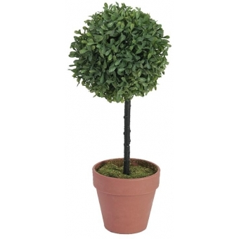 EUROPALMS Grass ball tree, PE, 39cm #1