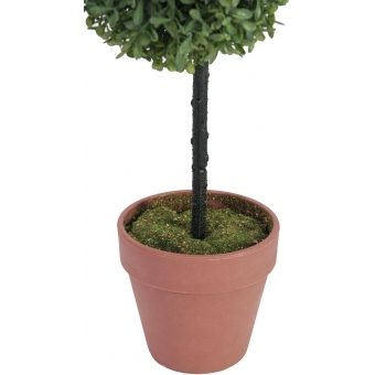EUROPALMS Grass ball tree, PE, 39cm #4