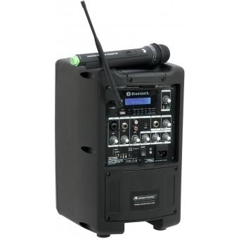 OMNITRONIC WAMS-08BT Wireless PA System #3
