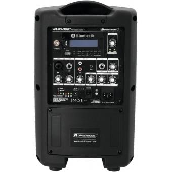 OMNITRONIC WAMS-08BT Wireless PA System #4