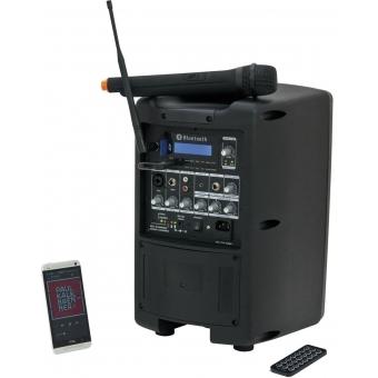 OMNITRONIC WAMS-08BT Wireless PA System #6