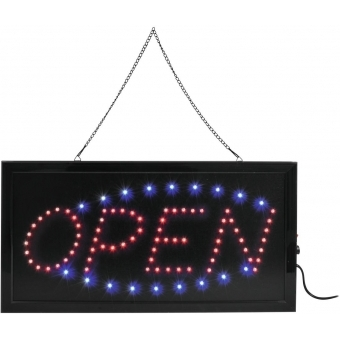 EUROLITE LED Sign OPEN classic