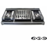 Zomo Flightcase Set 200 for 2x CDJ-200 + 1x DJM-600/700/800