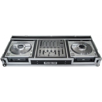 Zomo Flightcase DZ-600 for 2x SL-DZ1200 + 1x DJM-600/700/800