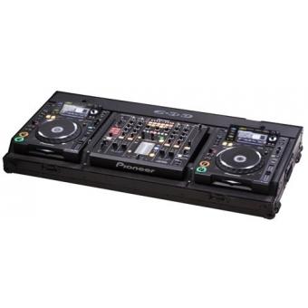 Zomo Flightcase Set 2200 NSE for 1x DJM-2000 + 2x 12
