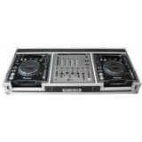 Zomo Flightcase P-1000/12 for 2x CDJ-900/1000 + 1x 12