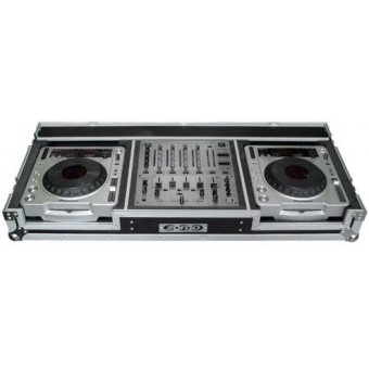 Zomo Flightcase P-800/12 for 2x CDJ-800 + 1x 12