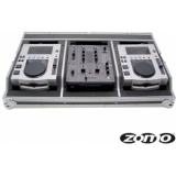 Zomo Flightcase Set 100 for 2x CDJ-100 + 1x DJM-400/DXM-06
