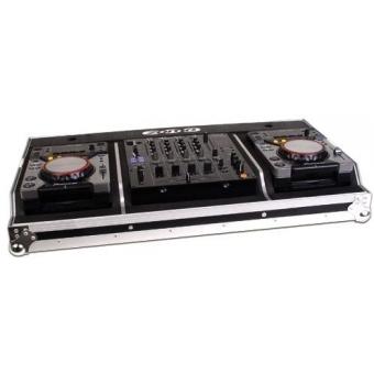 Zomo Flightcase Set 400 MK2 for 2x CDJ-400 x 1x 12