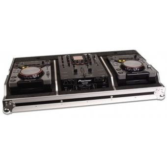 Zomo Flightcase Set 400 for 2x CDJ-400 + 1x 10