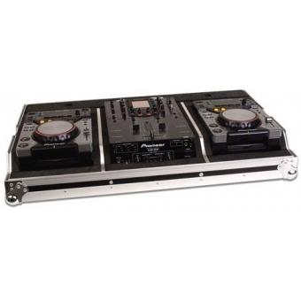Zomo Flightcase Set 400 for 2x CDJ-400 + 1x 10