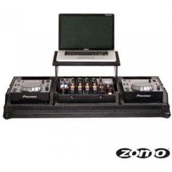 Zomo Flightcase Set 200 Plus NSE for 2 x CDJ-200 + 1 x 12 #2
