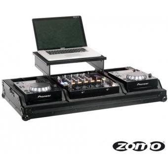 Zomo Flightcase Set 200 Plus NSE for 2 x CDJ-200 + 1 x 12