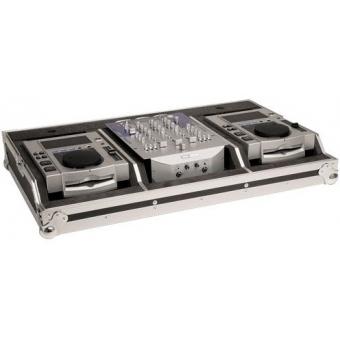 Zomo Flightcase Set 100 MK2 for 2x CDJ-100 + 1x 10