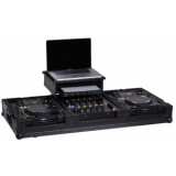 Zomo Flightcase P-2000/12 Plus NSE for 1x DJM-800 + 2x CD-Player