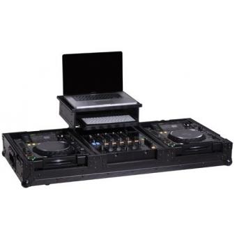 Zomo Flightcase P-2000/12 Plus NSE for 1x DJM-800 + 2x CD-Player