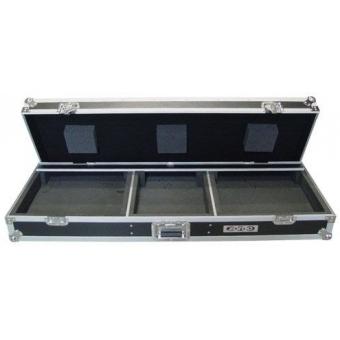 Zomo Flightcase T-600 for 2x Turntable + 1x 12 #3