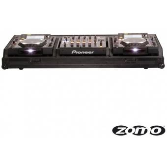 Zomo Flightcase Set 2900 NSE for 2x Pioneer CDJ-2000 + 1x DJM-90 #2