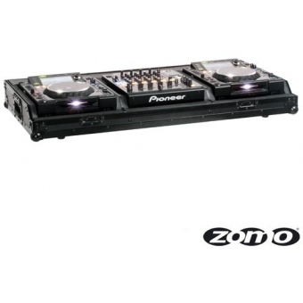 Zomo Flightcase Set 2900 NSE for 2x Pioneer CDJ-2000 + 1x DJM-90