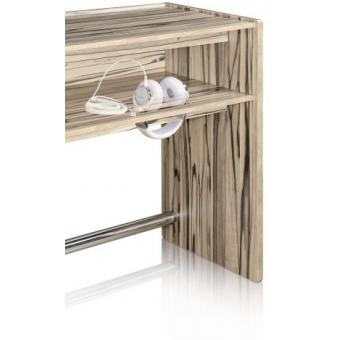 Zomo Deck Stand Ibiza 150 walnut/zebrano #5